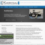 Webdesign Kokillenbau Miederhoff