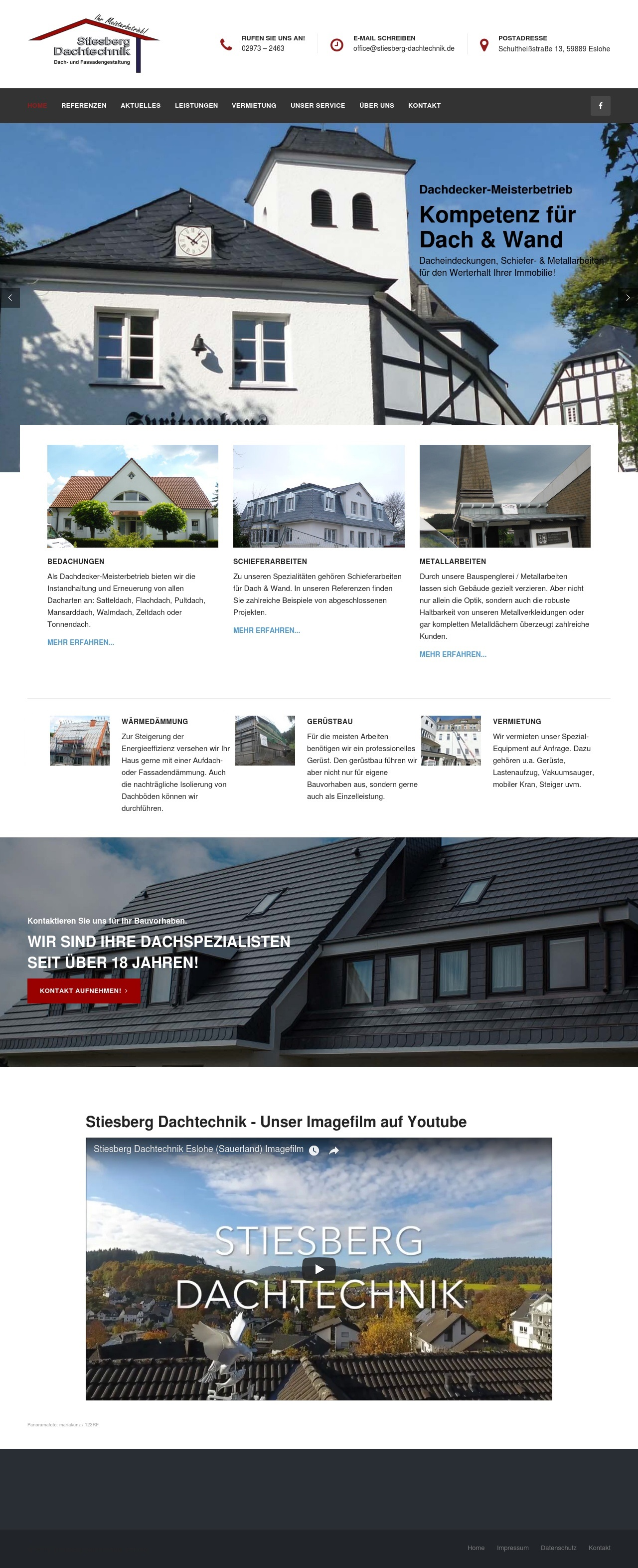 Re-Design einer 5-6 Jahre alten Webseite – sinnvoll?