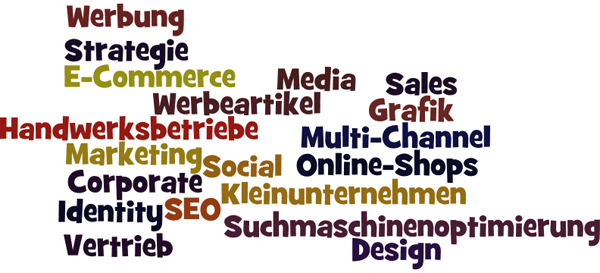 Marketing, Werbung, Internet, Vertrieb